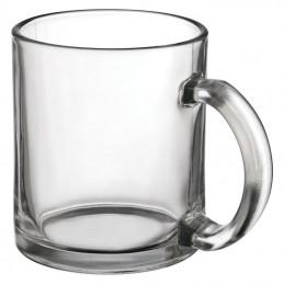 Cana din sticla transparenta 300 ml - 333166, White