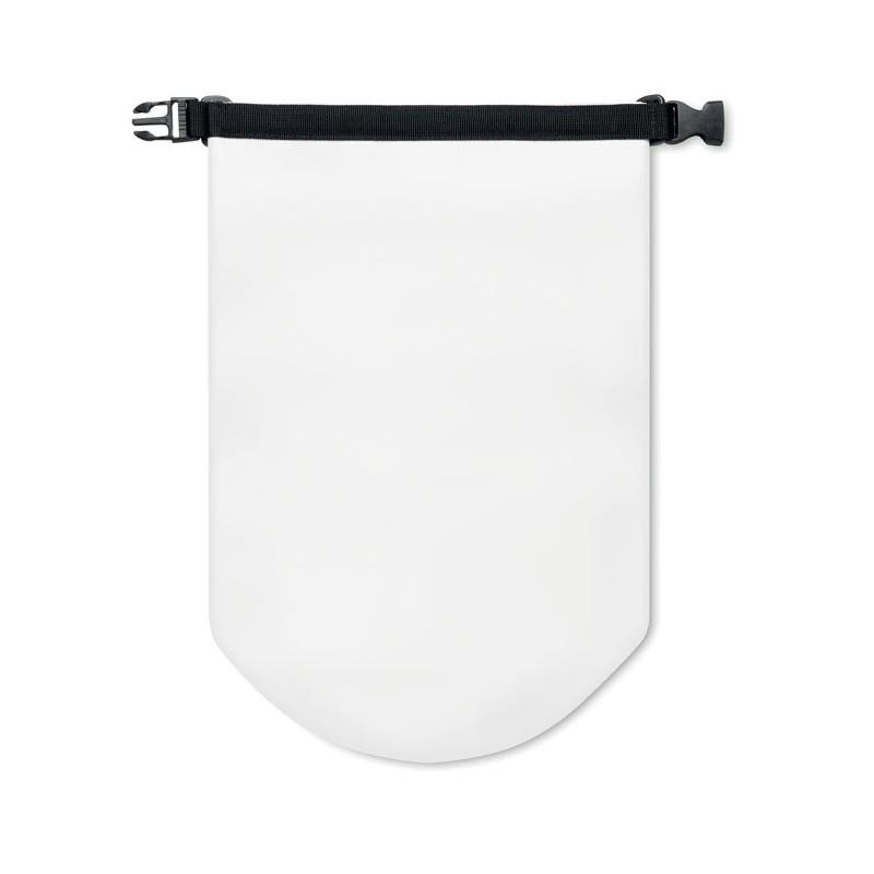 SCUBA - Geantă impermeabilă PVC 10L    MO8787-06, White