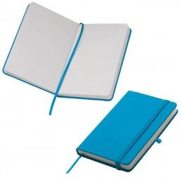 Carnetel A6  160 pagini veline coperti PU - 198414, Turquoise