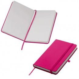 Carnetel A6  160 pagini veline coperti PU - 198411, Pink