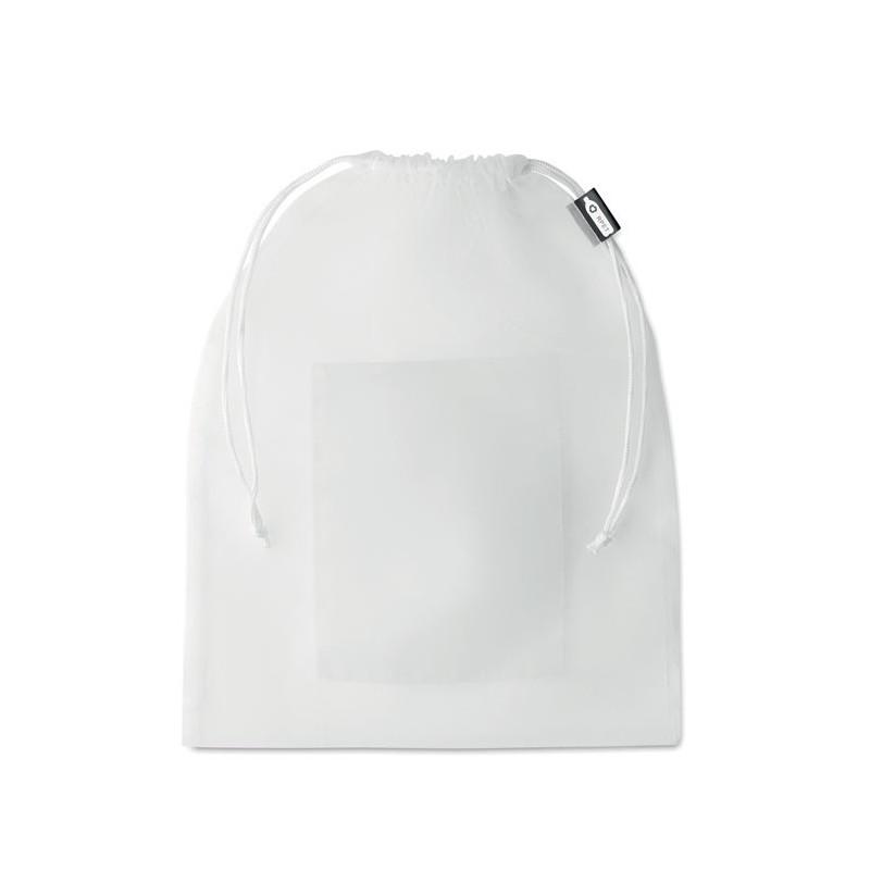 VEGGIE RPET - Pungă RPET pentru mâncare      MO9880-06, White