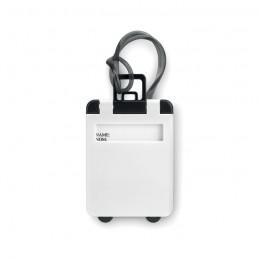 TRAVELLER - Etichetă bagaj din plastic     MO8718-06, White