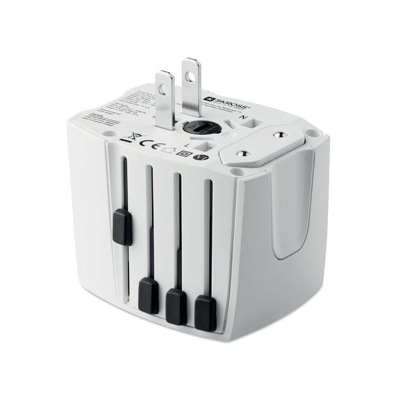SKROSS - MUV USB. 2-pole                MO9324-06, White