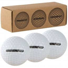 Mingi golf in cutie set 3 bucati - 5127906, White