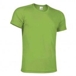 Tricou tehnic unisex 100% poliester 150g/m2 RESISTANCE verde