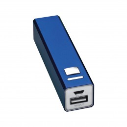 Powerbank din metal 2200 mAh - 4302904, Blue