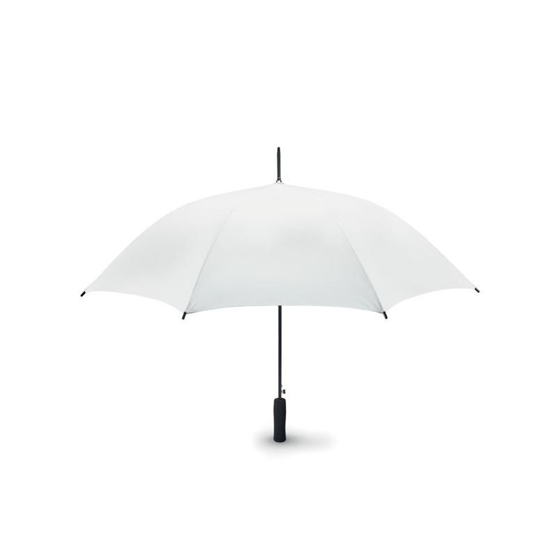 SMALL SWANSEA - Umbrelă automată unicoloră de  MO8779-06, White
