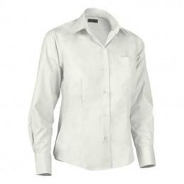 Camasa dama 65% polyester, 35% cotton. 120 grs/m2 poplin fabric. Star Long Sleeves