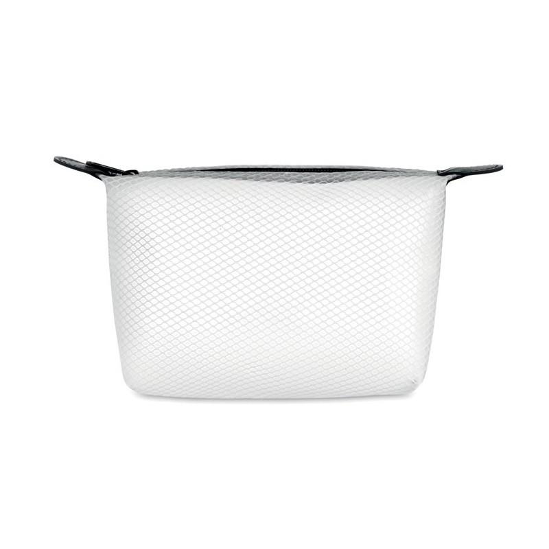 BALI BAG - Geantă toaletă din plasă EVA   MO9827-26, Transparent white