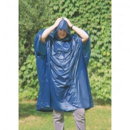REGAL - Impermeabil cu glugă în husă pelerina  IT0971-04, Blue
