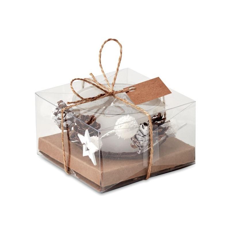 BOUGIE - Suport lumânare Crăciun        CX1446-06, White