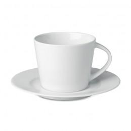 PARIS - Cappuccino ceasca si farfurie  MO9080-06, White
