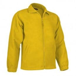 Bluza polar fleece cu fermoar Dakota galben