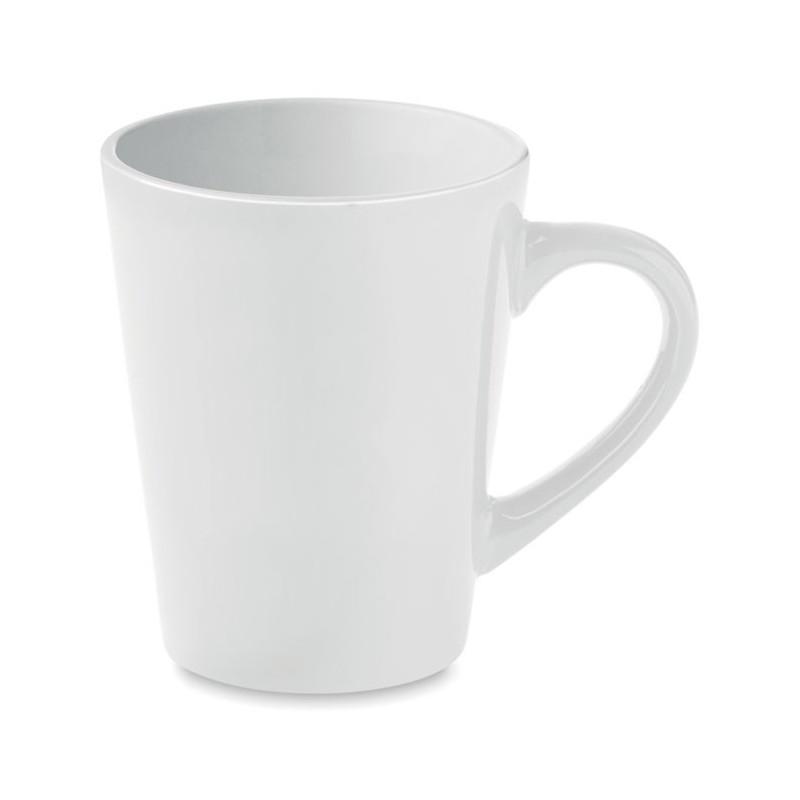 TAZA - Cană ceramică de cafea 300 ml  MO8831-06, White