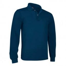 Tricou polo cu maneca lunga 220 gmp PREDATOR albastru NAVY