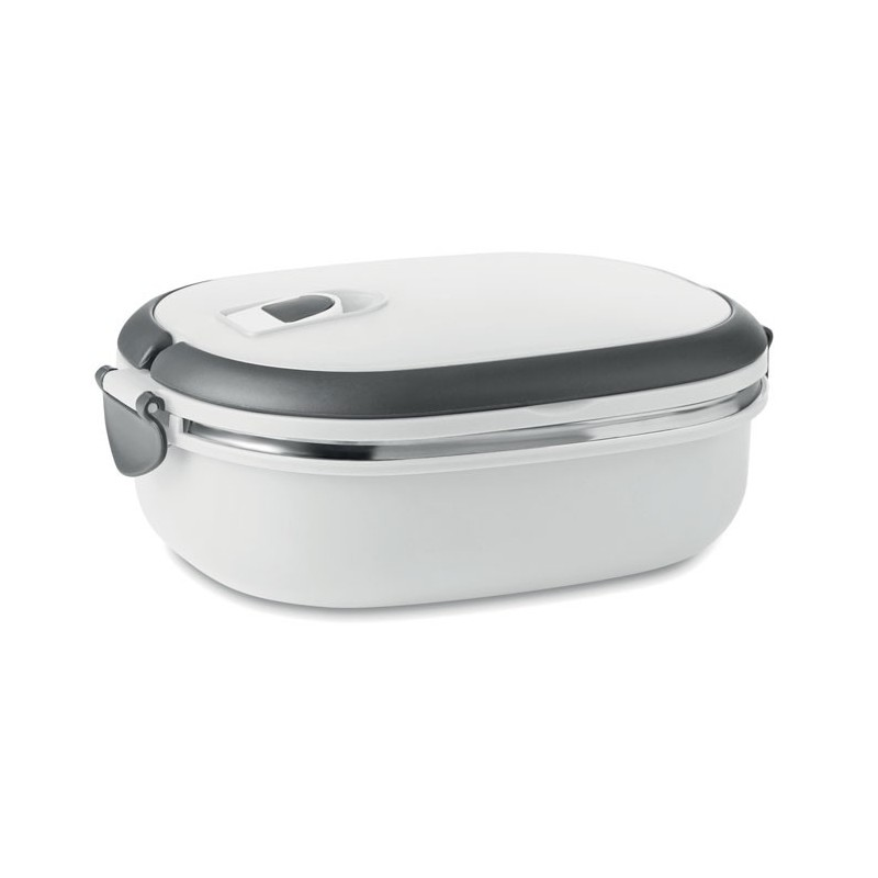 DELUX LUNCH - Cutie cu capac pentru sandvişu MO8517-06, White