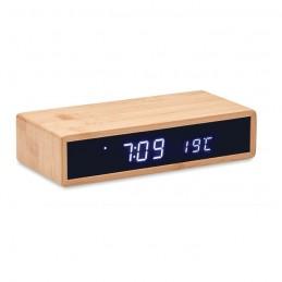 MORO. Încărcător wireless în bambus  MO6139-40, wood