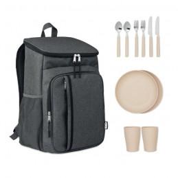 MONTECOOL. Geantă răcire picnic 600D RPET MO6167-03, black