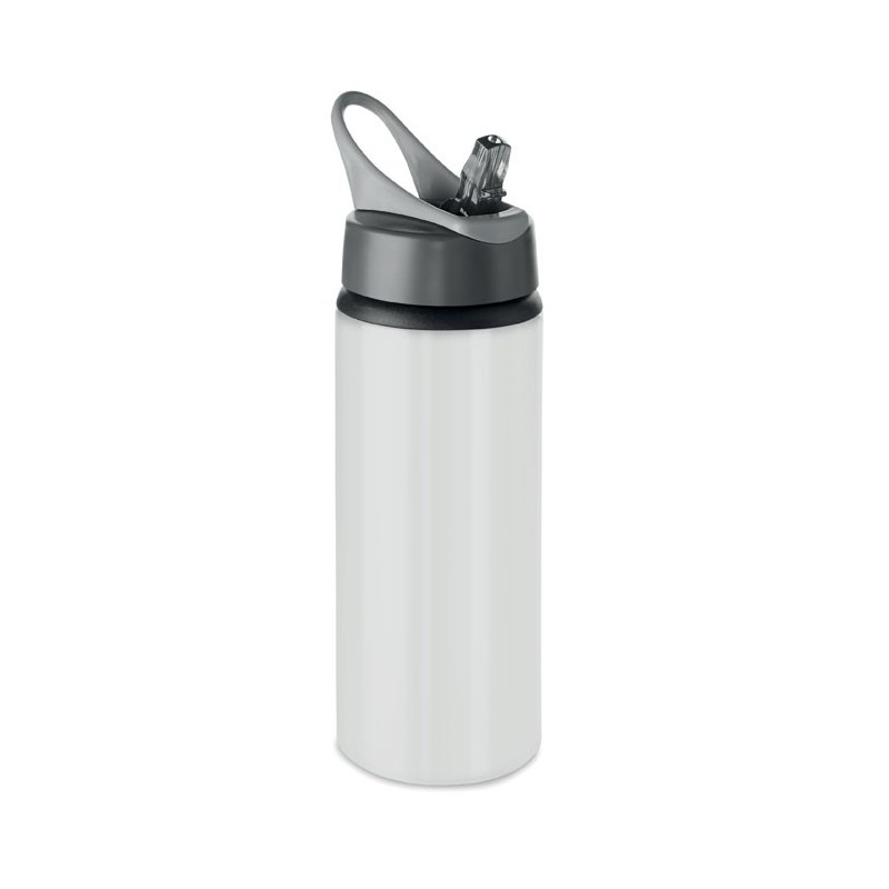 ATLANTA - Sticlă din aluminiu de 600 ml  MO9840-06, White
