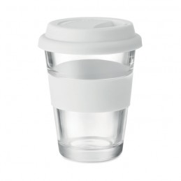 ASTOGLASS - Pahar din sticlă de 350 ml     MO9992-06, White