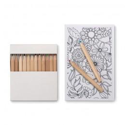 PAINT&RELAX - Set de colorat pentru adulți   MO8850-06, White