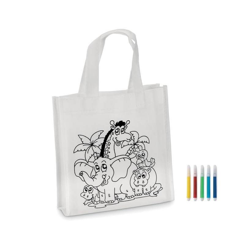 SHOOPIE - Mini-geantă cumpărături        MO8922-06, White