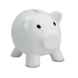 SOFTCO - Pușculiță în formă de porcușor MO8132-06, White