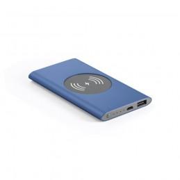 CASSINI. Baterie portabilă 4000 mAh și încărcător wireless - 97078-104, Albastru