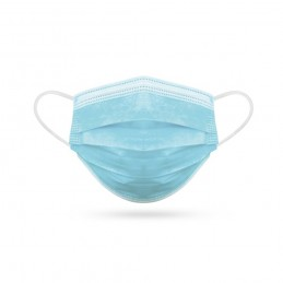 COVERBE TYPE I. Mască chirurgicală tip I - 98901-124, Albastru deschis