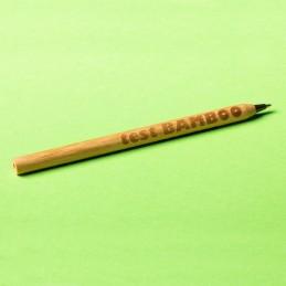 CHAVEZ bamboo ballpen, black - R73438.02, natur