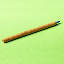 CHAVEZ bamboo ballpen, blue - R73438.04, natur