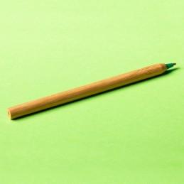 CHAVEZ bamboo ballpen, green - R73438.05, natur