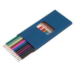 DUO set of crayons,  dark blue - R73787, albastru