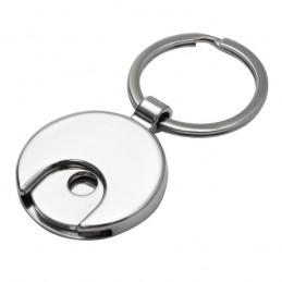 SHOPPING SPREE. Breloc metalic cu fisa - R73182.02, Argintiu