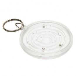 MAZE. Breloc plastic cu labirint - R08849.06, white