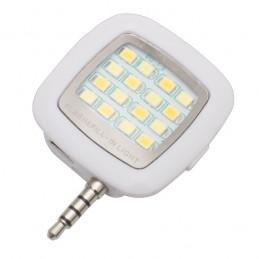 SELFIE FLASH lanterna pentru telefon mobil 16 LED-uri - R64331.06, white