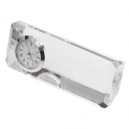 CRISTALINO CLOCK Ceas in bloc de sticla - R22186.00, white