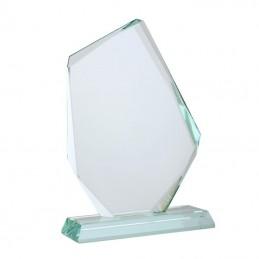 JEWEL trophy, Trofeu din sticla - R22190, white