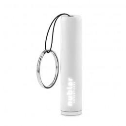 SANLIGHT - Lanternă plastic, logo luminos MO9469-06, White