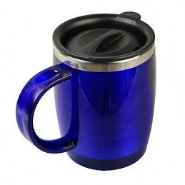 BARREL Cana termoizolanta 400 ml aspect lucios - R08368.04, albastru