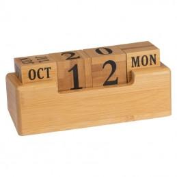 Calendar perpetuu din bambus - 2226313, Beige