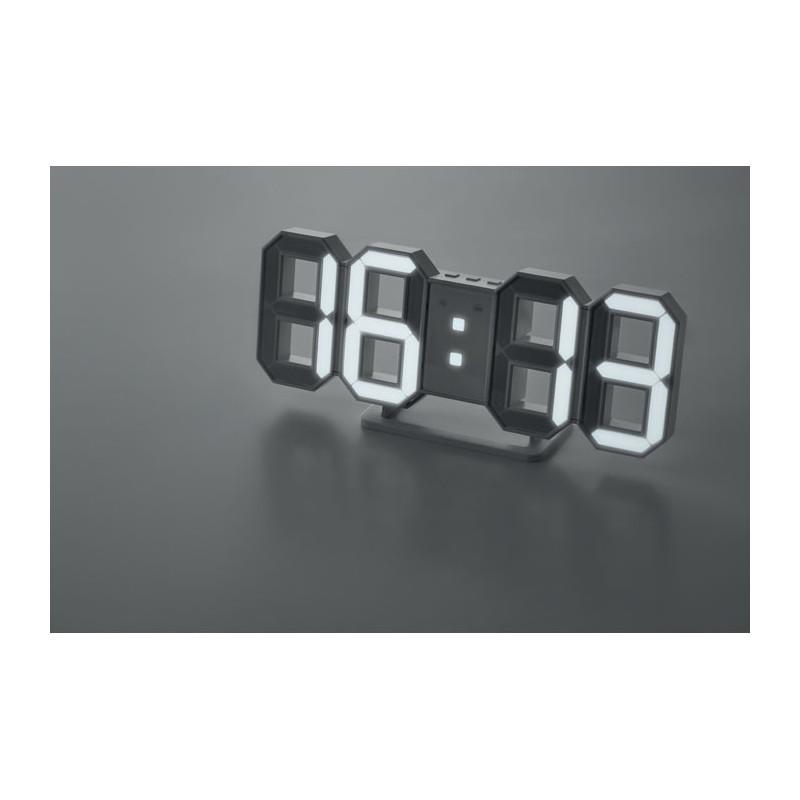 COUNTDOWN - Ceas de perete LED cu adaptor  MO9509-06, White