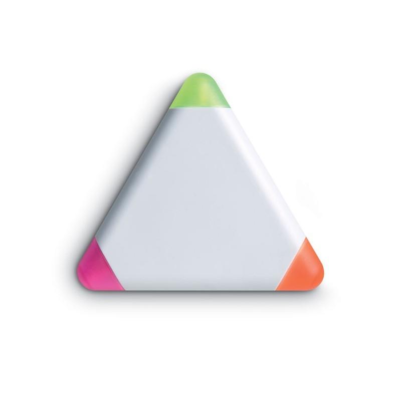 TRIANGULO - Evidențiator triunghiular      MO7818-06, White