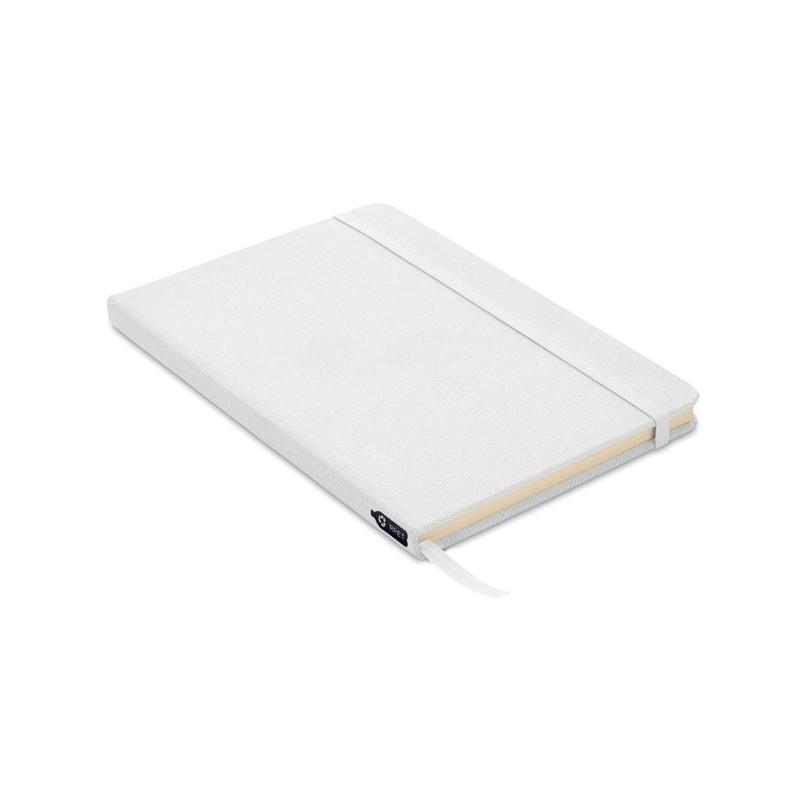 NOTE RPET - Notes A5 cu copertă RPET 600D  MO9966-06, White