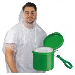 Pelerină de ploaie într-un suport cu carabină - 4232309, Green