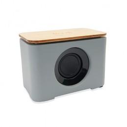HELDENS. Boxă wireless cu Bluetooth 5.0 cu corp din ciment, BS3209 - BAMBOO
