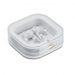 MUSISOFT - Căşti cu silicon               MO7267-06, White