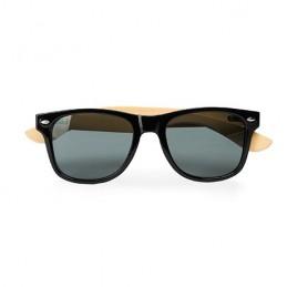 EDEN. Ochelari de soare UV 400, brate bambus, SG8104 - BLACK