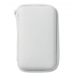 SUPERPOUCH - Set de călătorii cu încărcător MO8412-06, White