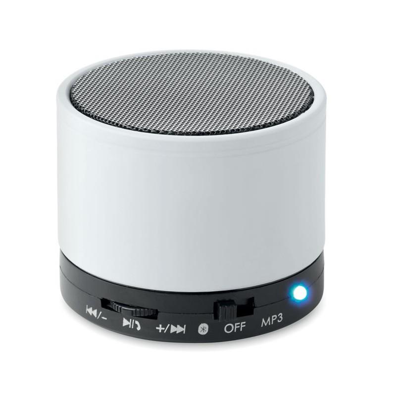 ROUND BASS - Boxă rotundă Bluetooth         MO8726-06, White